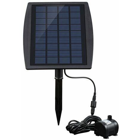 Fontaine aeau solaire 9 V / 2.5 W pompe aeau solaire 2.5 W fontaine de jardin fontaine de paysage solaire equipement de fontaine enfichable BSV-SP025