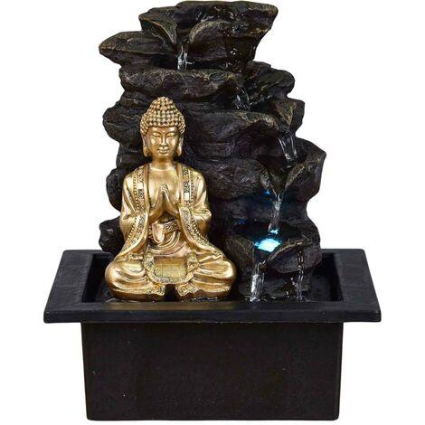 Fontaine bouddha LED Shira