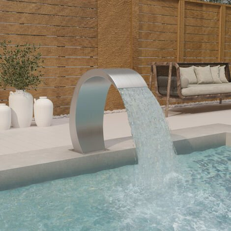 Fontaine de piscine 30x60x70 cm Acier inoxydable 304