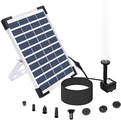 Fontaine de stockage d'energie solaire, fonction de stockage BSV-SP050X 10V / 5W