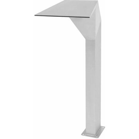 Fontaine d'étang Acier inoxydable 50 x 30 x 90 cm Argenté