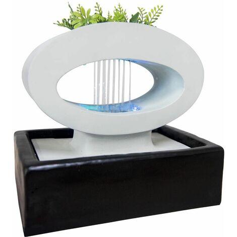 Fontaine jardinière design en résine Lunapot - SCFR18CO