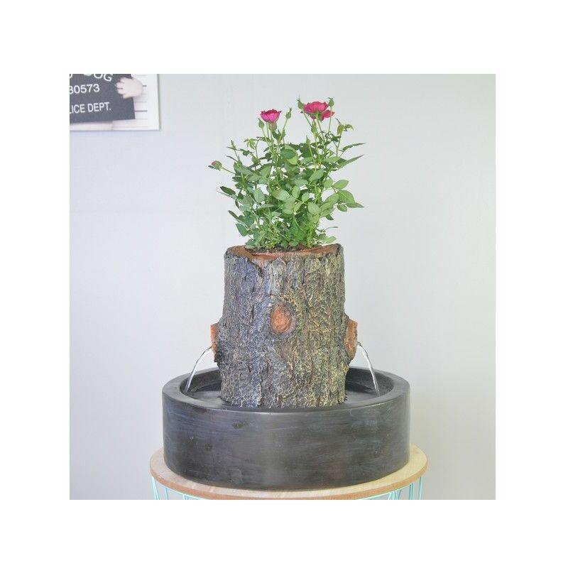 Ac-déco - Fontaine Jardinière Arpot - L 30 x l 20 x H 27 cm - Polyrésine - Livraison gratuite