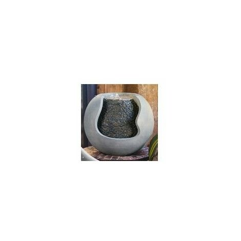 Fontaine Moderne Andy - L 36 x l 31 x H 37 cm - Polyrésine - Livraison gratuite