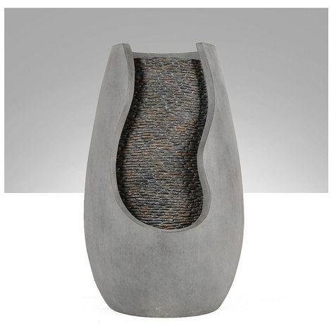 Fontaine moderne Molly - D 32 x H 60 cm - Résine