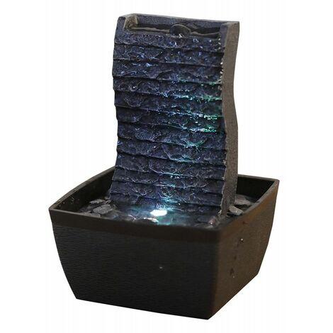 Fontaine Ondulo - H 19 cm - LED - Livraison gratuite