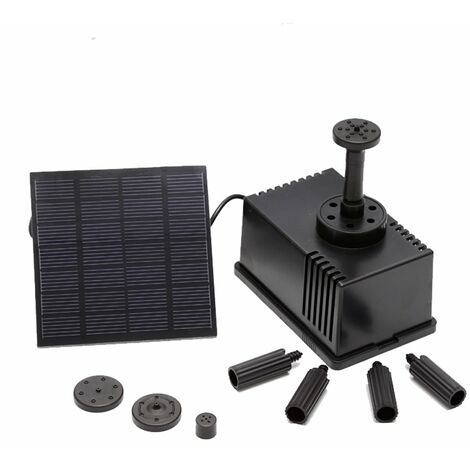 Fontaine Solaire Carree, 7V 1.5W 180 L / H