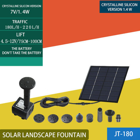 Fontaine Solaire Ext