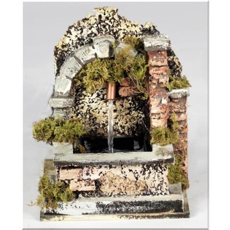 Fontana Per Il Presepe.Fontana Funzionante Per Presepe Cm12x14x14