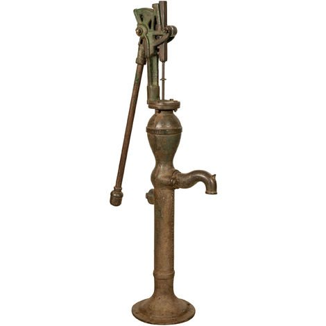 Fontanella fountain in cast iron and iron for old/antique outdoor well