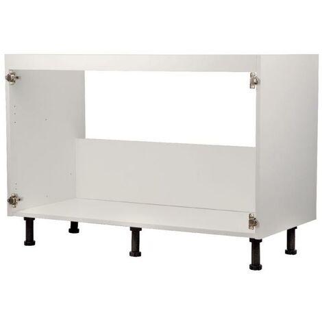Fontanería - Caja subfregadero de color blanca