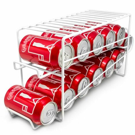 Food and Drinks Tin Can Dispenser Rack