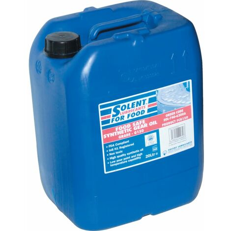 Food Safe Synthetic Gear Oils