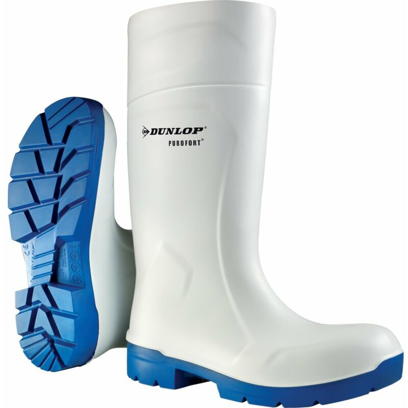 Image of Dunlop Foodpro Multigrip White Boot Size 10 (44)