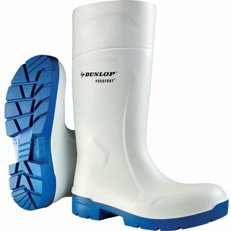 FoodPro Multigrip White Safety Wellington Boots
