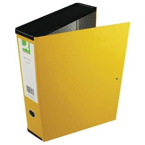 Foolscap Coloured Box Files