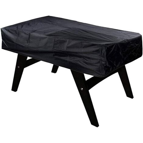 Foosball Table Cover, Outdoor Dustproof Rectangular Patio Cafe Chair Billiard Soccer Cover 420D Oxford Fabric