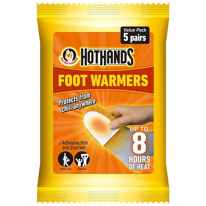 Image of Foot Warmers Value Pack of 5 Pairs - Hot Hands