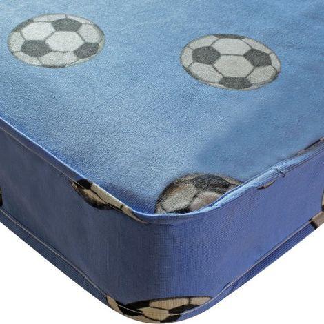Football Single Mattress - Blue