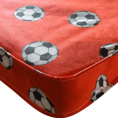 Football Single Mattress - Red