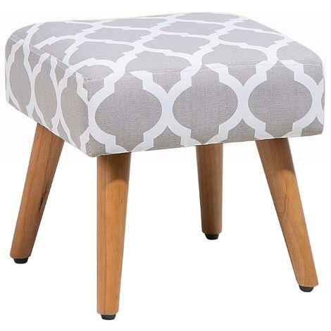Footstool Grey OSAGE