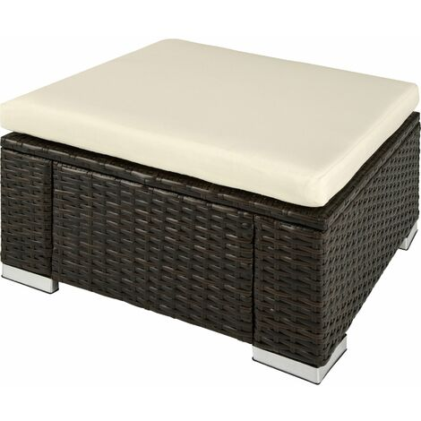 Footstool rattan - footstool, foot stool, foot rest