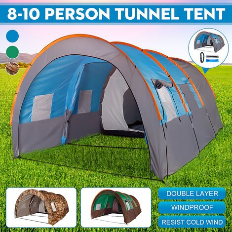 For 8-10 Persons Waterproof Arch Tents Camping Gazebos