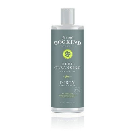 For All Dog Kind Dirty Coat Natural Liquid Shampoo (250ml) (May Vary)