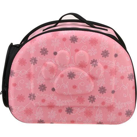 For Cat Dog Puppy Guinea Pig Hamster Pet Handbag Shoulder Bag pink Medium