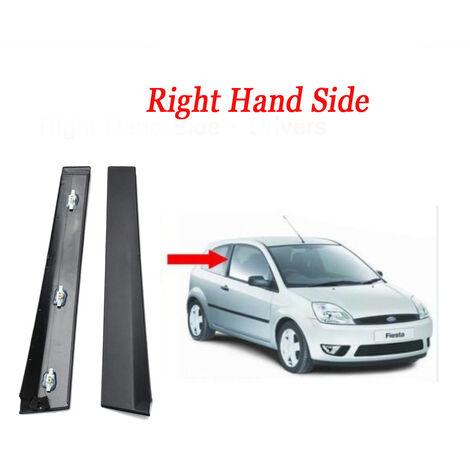 For Ford Fiesta MK6 01-08 Outer Front Door Moulding Trim Window Trim Frame Right Driver Side OR Left Passenger Side (3 Door)