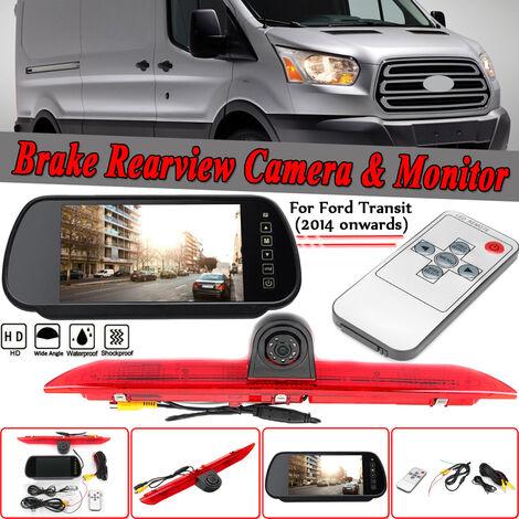 For Ford Transit 2014-2018 7 & quot; Monitor & LED Rear Brake Light Backup Camera