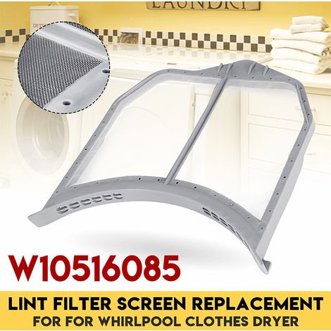 For Replacement of Whirlpool Dryer Compatible Equipment W10516085 Lint Filter Screen