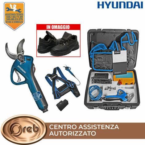Forbici potatore a batteria hyundai 35501 litio 36v 4ah 144wh 850gr 40mm max