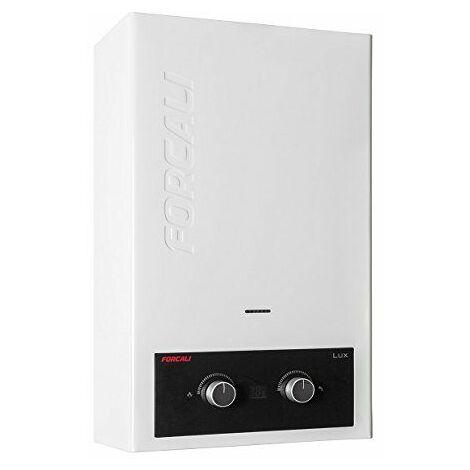 Forcali Calentador de agua Gas butano 6 litros atmosferico