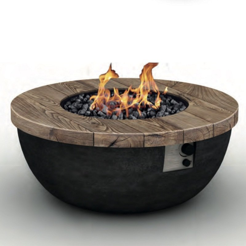 Foremost Outdoor Gas Fire Pit Table Bowl - FT-F-016
