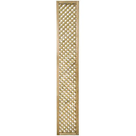"Forest 5'11"" x 1' Wisley Diamond Lattice Panel (1.8m x 0.3m)"