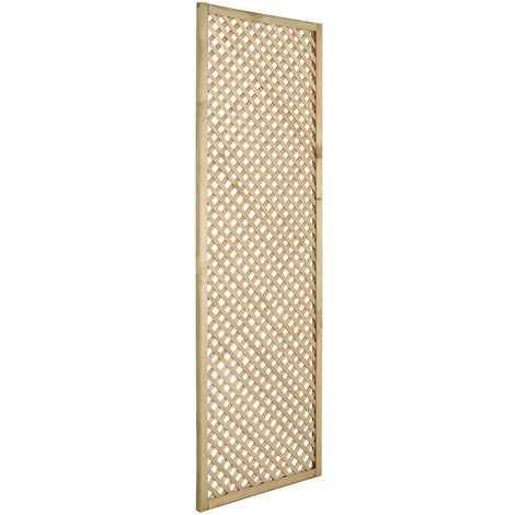 "Forest 5'11"" x 1'11"" Wisley Diamond Lattice Panel (1.8m x 0.6m)"