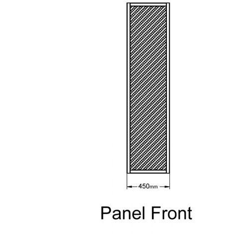 "Forest 5'11"" x 1'6"" Wisley Diamond Lattice Panel (1.8m x 0.45m)"