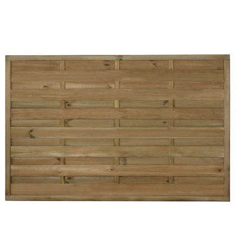"""Forest 5'11"""" x 3'22"""" Exeter Pressure Treated Decorative Fence Panel (Europa) - 1.8m x 1.2m"""