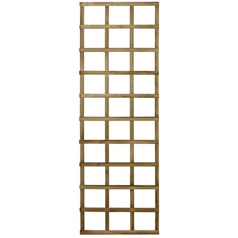 "Forest 5'11""x1'11"" Traditional Decorative Square Rose Trellis"