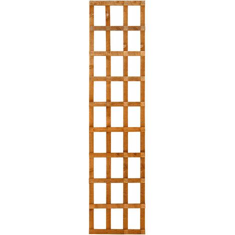 Forest 6' x 2' Heavy Duty Square Garden Trellis Fence Panel (1.83m x 0.61m)