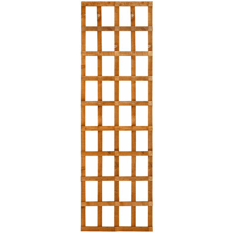 Forest 6' x 3' Heavy Duty Square Garden Trellis Fence Panel (1.83m x 0.91m)