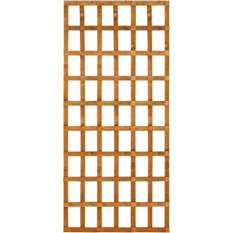 Forest 6' x 4' Heavy Duty Square Garden Trellis Fence Panel (1.83m x 1.22m)