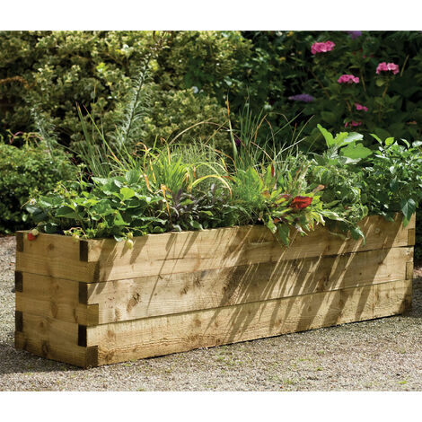 Forest Caledonian Rectangular Raised Bed 5'11x1'6 (1.8x0.45m)