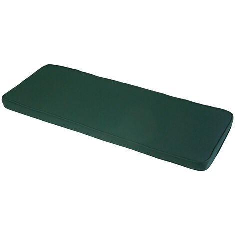 Forest Green 2 Seater Bench Cushion