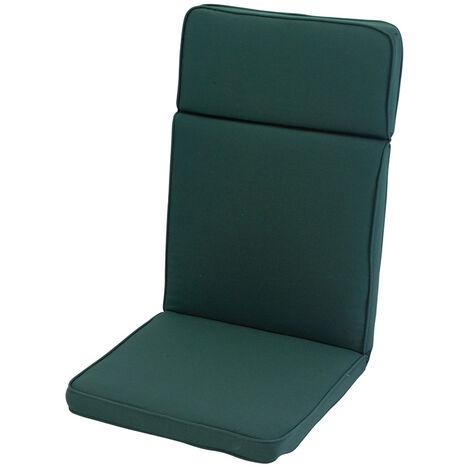 Forest Green High Recliner Cushion Outdoor Garden Furniture Cushion