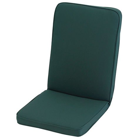 """main image of """"Forest Green Low Recliner Cushion Outdoor Garden Furniture Cushion"""""""