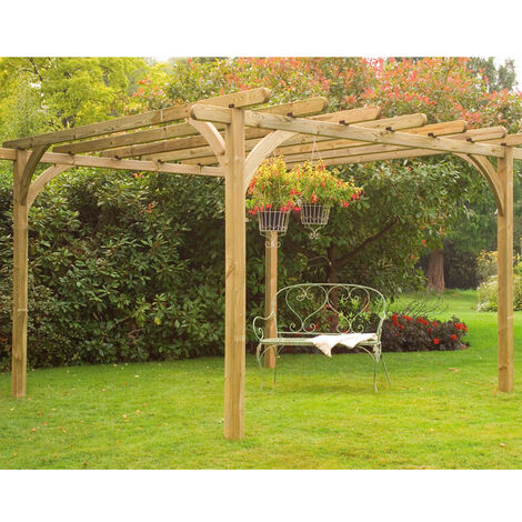 DIY Wooden Garden Pergola Kits - Create Your Own Garden Style