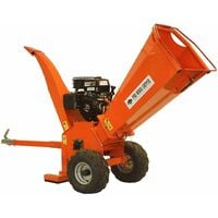 Forest Master 13HP wood chipper petrol timber brush branch shredder