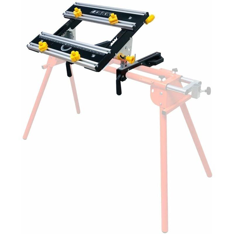 Image of Adjustable Tilting Workbench for Mitre Saw Stands - Forest Master